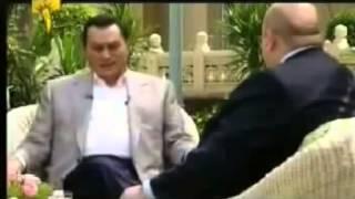 مقطع نادر جداً حسني مبارك يتحدث عن احتلال ليبيا واسقاط القذافي