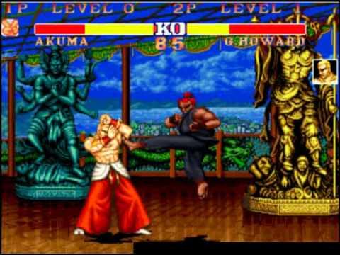 street fighter deluxe bosses youtube
