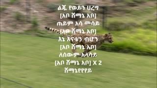 አቦ ሸማኔ - ጂጂ (እጅጋየሁ ሽባባው)   Abo Shemane by Gigi (Ejigayehu Shibabaw) with lyrics