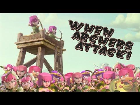Clash of Clans Attacks |