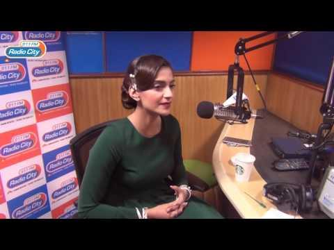 RJ Sonam Kapoor At RadioCity For Neerja | 91.1 FM | Mumbai
