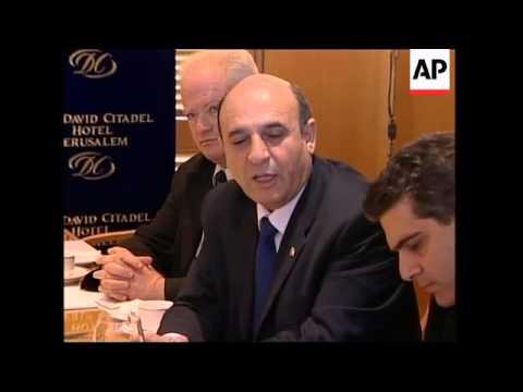 US envoy meets Israeli Defence Minister Shaul Mofaz