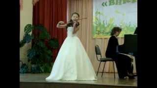 """К. Бом """"Непрерывное движение"""" исполняет Буданова Любовь г. Чебоксары"""