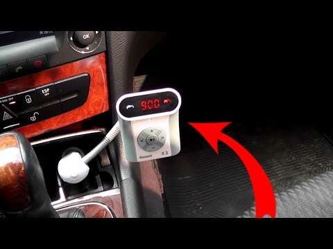 Bluetooth Hands free Car mp3-player wireless FM transmitter with display from China