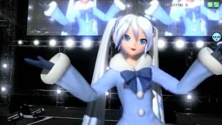 白い雪のプリンセスは【PV 720P/雪ミク 2012】【Project DIVA Arcade】