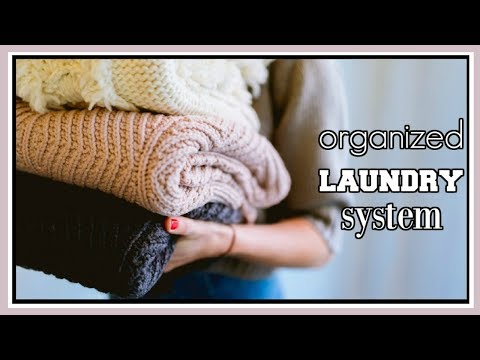 Ultra Organized Laundry System || How I Do My Laundry || Laundry Hacks