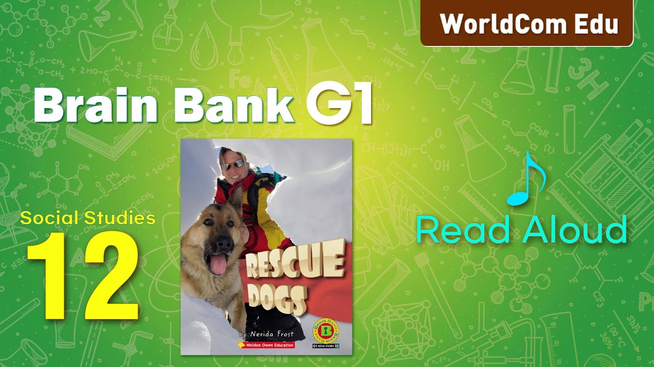 브레인뱅크 G1  Social studies  I 12. Rescue Dogs  I  Read Aloud