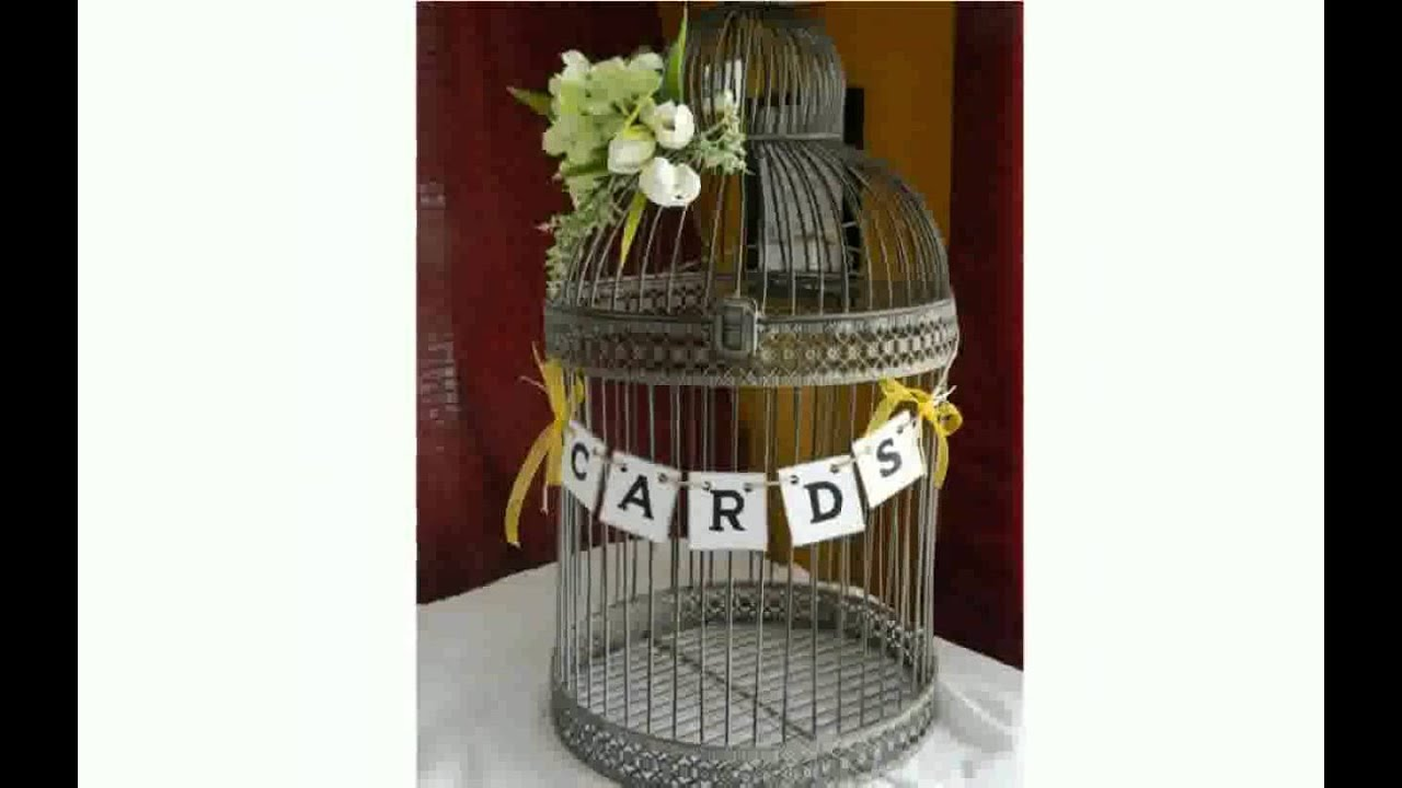 Bird Cage For Wedding Cards Youtube