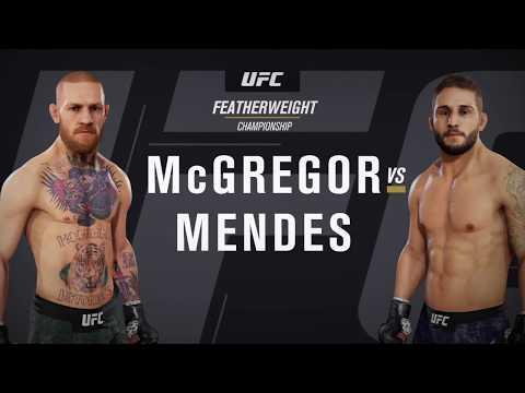 EA SPORTS UFC 3 Light Heavyweight Championship Conor McGregor vs. Chad Mendes