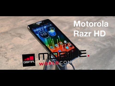 MWC 2013 Probamos el Motorola Razr HD