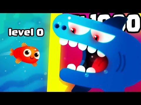 HOW STRONG IS THE STRONGEST SHARK FISH EVOLUTION? (1000+ LEVEL ARMY LEGENDARY)l Fish & Trip New Game: HOW STRONG IS THE STRONGEST SHARK FISH EVOLUTION In todays episode we play Fish & Trip! the goal of this game is unlock all the fish evolution! Every legendary fish evolution has a special ability! Watch out for the piranha, sharks and puffer fish! Create the biggest fish school in order to take over the whole sea!! Lets collect a lot of fish food (caviar, fish eggs). Can we hit 750 LIKES?!?!?!  Pla Fish and Trip: https://play.google.com/store/apps/details?id=com.bloop.fishtrip  Previous videos! https://www.youtube.com/watch?v=2RKHmMAqdr0 https://www.youtube.com/watch?v=hQ6AWSzqFII https://www.youtube.com/watch?v=vzOO7901K0Y  #Fish&trip #FishandTrip #androidgames #mobilegames  Discord: http://discord.gg/UqhzUx3 Twitter: https://twitter.com/FadyYT Facebook: https://goo.gl/Se4FUW Instagram: http://goo.gl/Y4XNA4