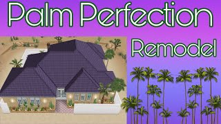 Sims Freeplay ~ Remodel Of The Palm Perfection Prize Home 🌴😍