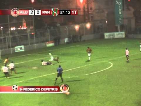 Gol de Federico Depetris ( ALUMNI 3-1 SPORTIVO LAS PAREJAS)