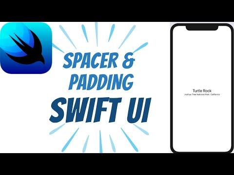 Spacer Between Views, Padding in Swift UI - Swift UI Tutorials - #3 thumbnail