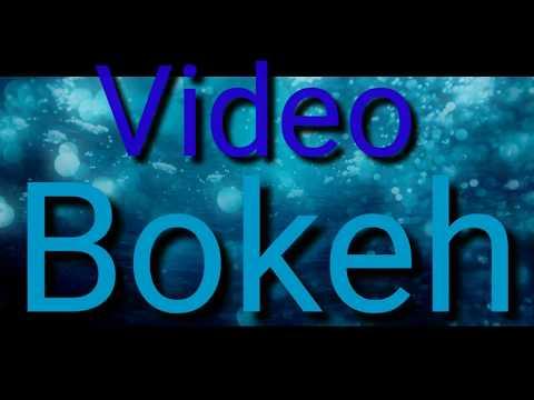 Video Bokeh Dream Light Full Hd