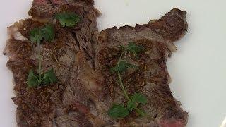 Easy Pan Seared Rib-eye Steak