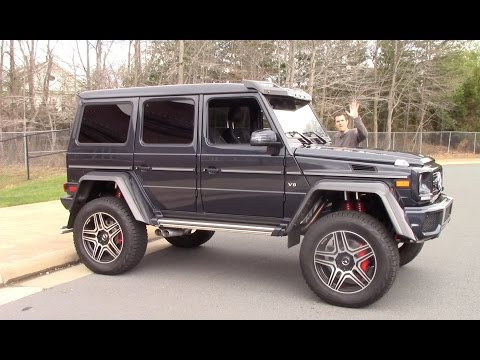 Thumbnail: The Mercedes G550 4x4 Squared Is a $250,000 German Monster Truck