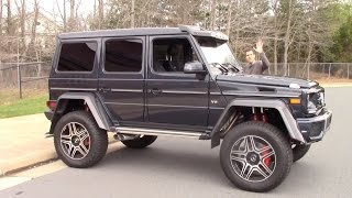 Download The Mercedes G550 4x4 Squared Is a $250,000 German Monster Truck Mp3 and Videos