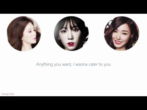 [Acapella] Girls' Generation-TTS - Cater 2 U lyrics
