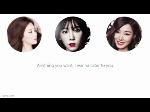 [Acapella] Girls' Generation-TTS - Cater 2 U lyrics