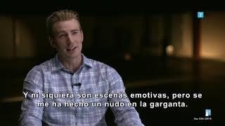 Vengadores: Endgame |  Making of: Chris Evans | HD