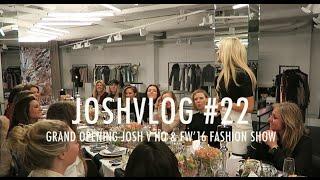 JOSHVLOG #22   GROOT BABYNIEUWS   Grand opening JOSHV HQ & Fall Winter '16 fashion show