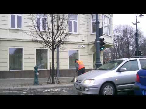Weather in Vilnius, Lithuania, 2010-03-20, temperature - plus 10 C from Oras TV