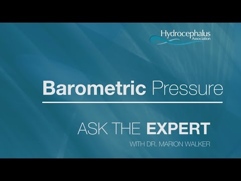 ASK THE EXPERT Episode 5 Barometric Pressure