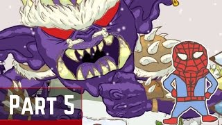 Draw a Stickman Epic - Zarps Fortress Boss Fight Gameplay Part 9 - Jhonny Bravo vs Boss Stickman