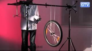 Колесо-гироскоп - физические опыты