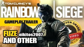 Fuze and other - Tom Clancy's Rainbow Six Gameplay Trailer | nikitos2007