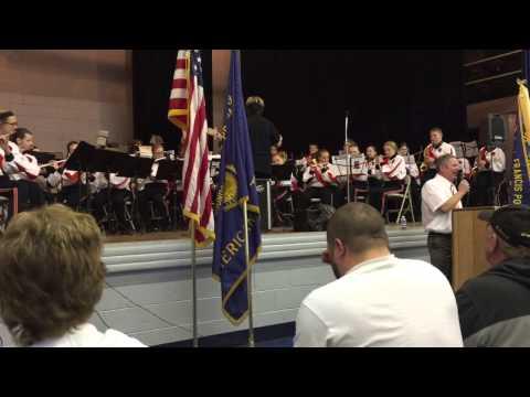 Moundsville Middle School Band Veterans Day program