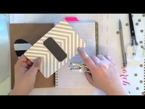 Diy tutorial customize your spiral planner or notebook youtube diy tutorial customize your spiral planner or notebook solutioingenieria Gallery