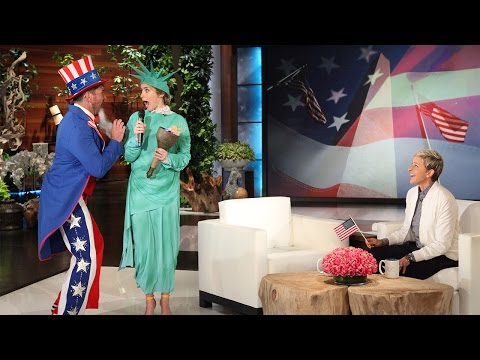 A Patriotic Scare for Emily Blunt