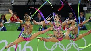Триумф российской художественной гимнастики в Рио
