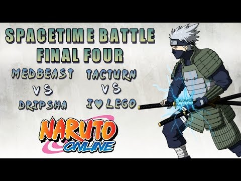 EPIC 5 ROUND BATTLE | GONNA BE AN UPSET? | SPACETIME BATTLE | FINAL FOUR | SEMIFINAL | NARUTO ONLINE