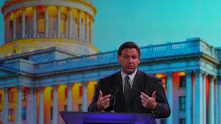 Florida Gov. Ron DeSantis mocks new CDC recommendation on masks at Utah conference