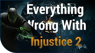 GAME SINS | Everything Wrong With Injustice 2