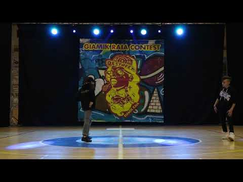 Giamik Raia Dance Contest - Hip Hop Battle Under 14 - Pasquale vs Orazio