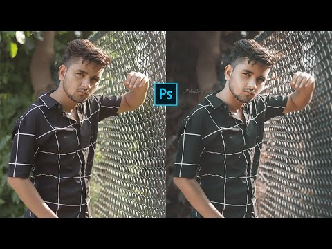 Photoshop How to Edit Outdoor Portrait Moddy Photo Editing Tutorial|| Altaf creations thumbnail