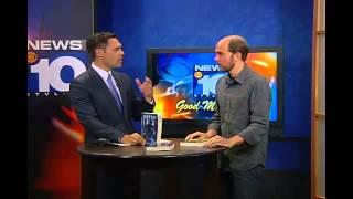 KTVL CBS News Interviews Author Brandt Legg