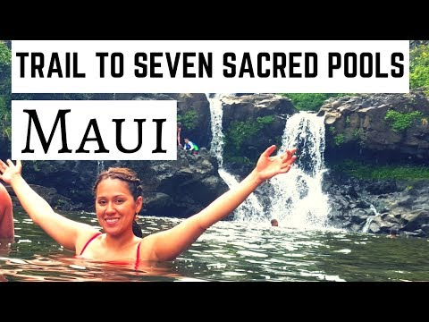 Hike to Swim under Waterfalls! Maui Haleakala National Park