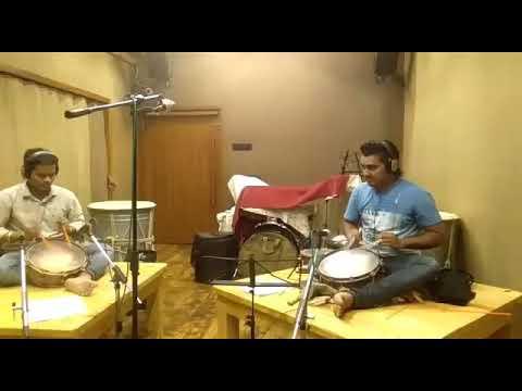 Recording Session Meking Tasha = Krishna Patil & Tejas Satardekar