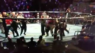 Conor Mcgregor gets ATTACKED by Khabib's teammate after FIGHT