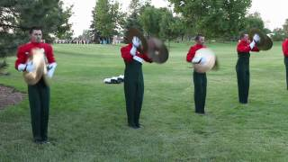 DCI 2010 - Santa Clara Vanguard Cymbals in the lot  @ Loveland, CO 1080p - 7/9/2010