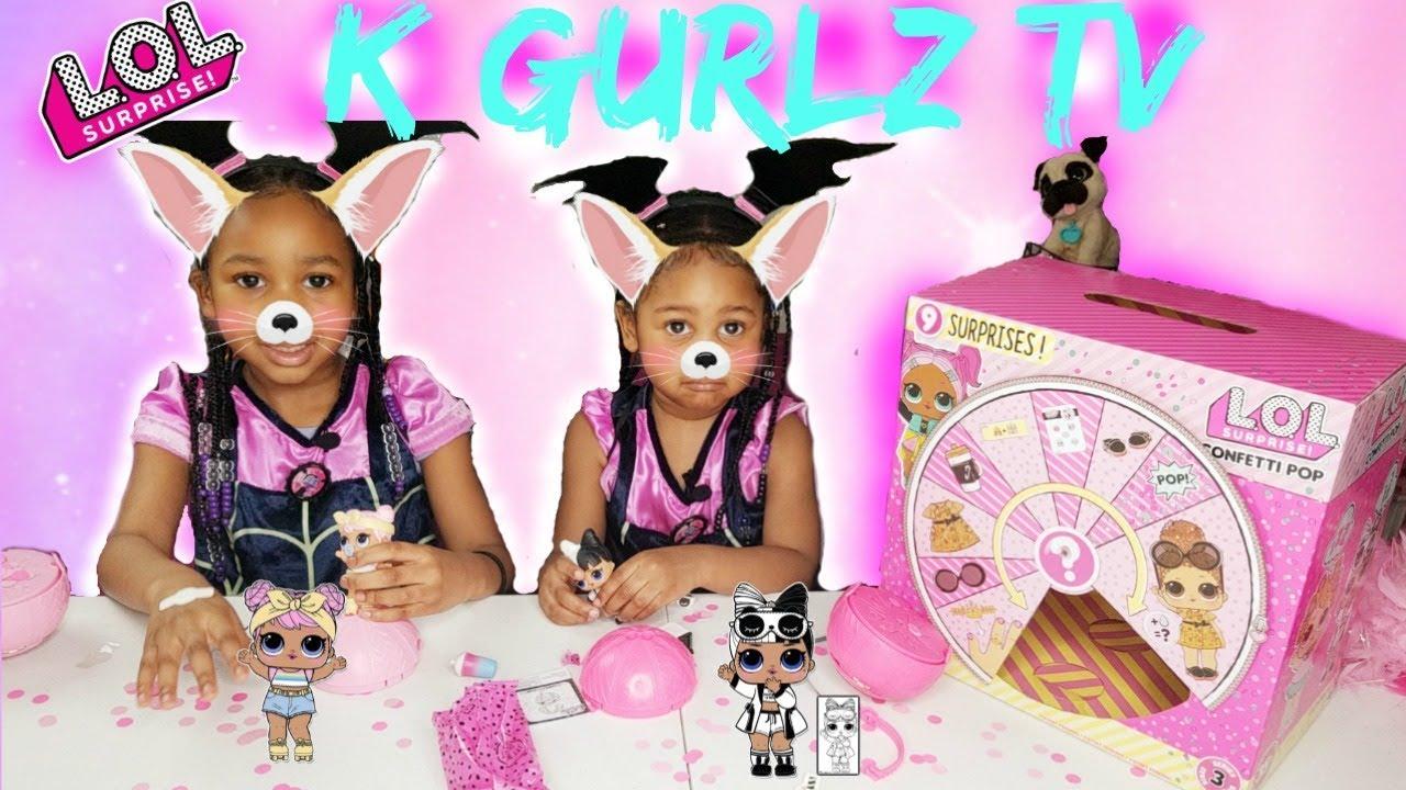 Download Unboxing video LOL surprise DOLLS CONFETTI Pop (Kgurlz tv) lol surprise dolls