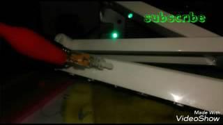 Độ chế đèn bàn học sinh thành đèn led xem mạch điện tử