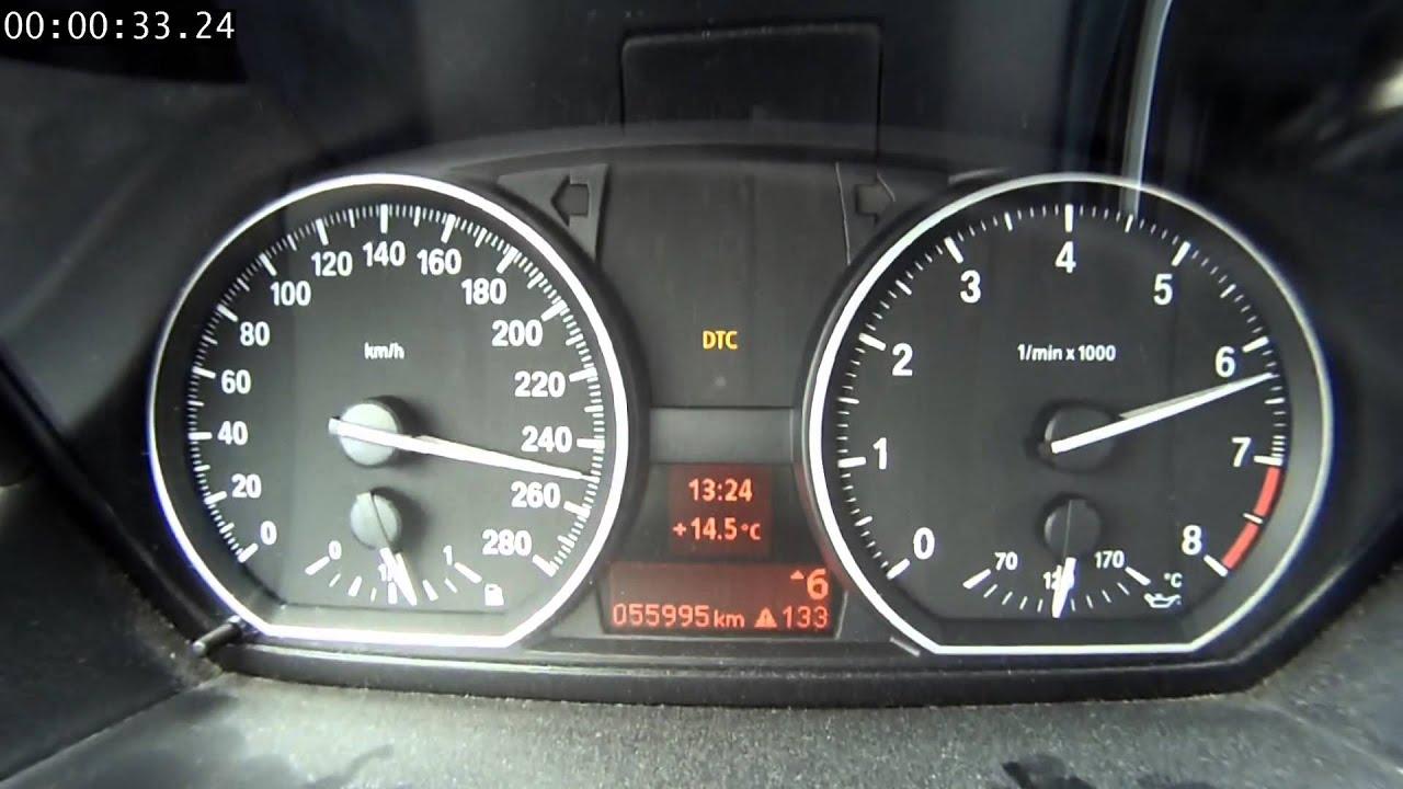 BMW 135i Timed 0 Max Speedo On The Autobahn YouTube