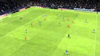 Schalke vs Olympiakos - Benitez Goal 4th minute.