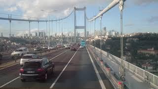 Video The Bosphorus Bridge, Asia to Europe. 10.12.17 download MP3, 3GP, MP4, WEBM, AVI, FLV November 2018